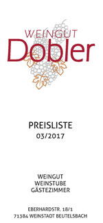 Preisliste 03/2017